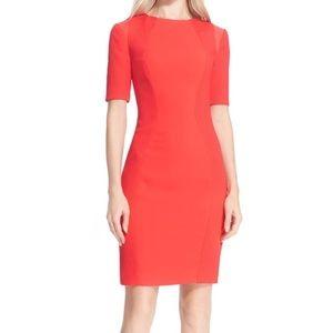 Abrial' Mesh Panel Body-Con Dress
